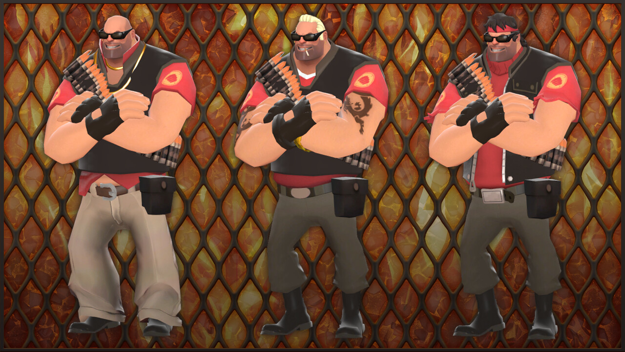 ArtStation - The Drive-in Diner Diver (TF2 Cosmetic Set), Liam Moffitt