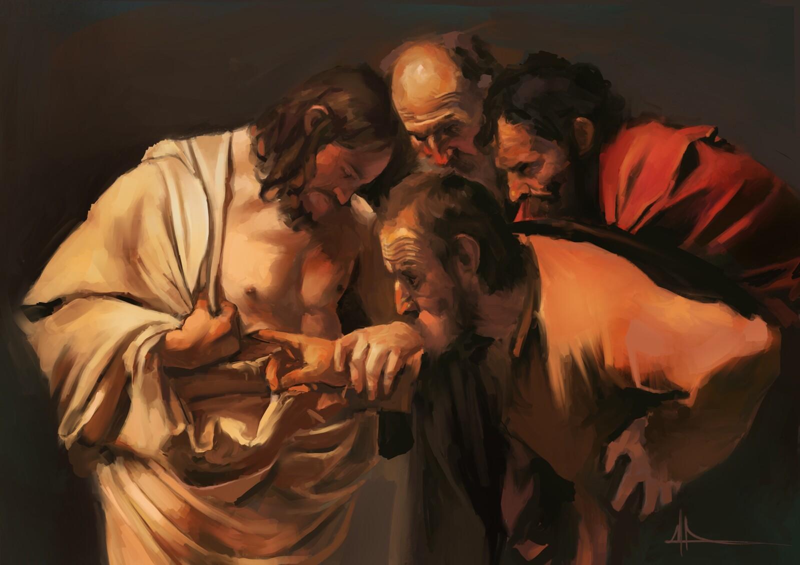 La incredulidad de Santo Tomás