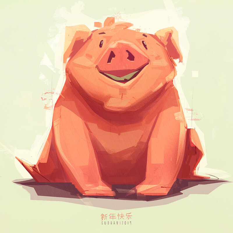 Happy Year Of the Pig! [2019]
