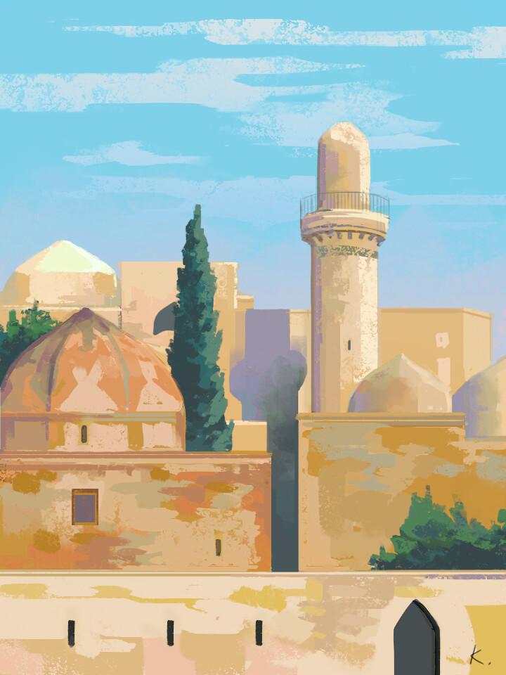Shirvanshah's Palace Mausoleum