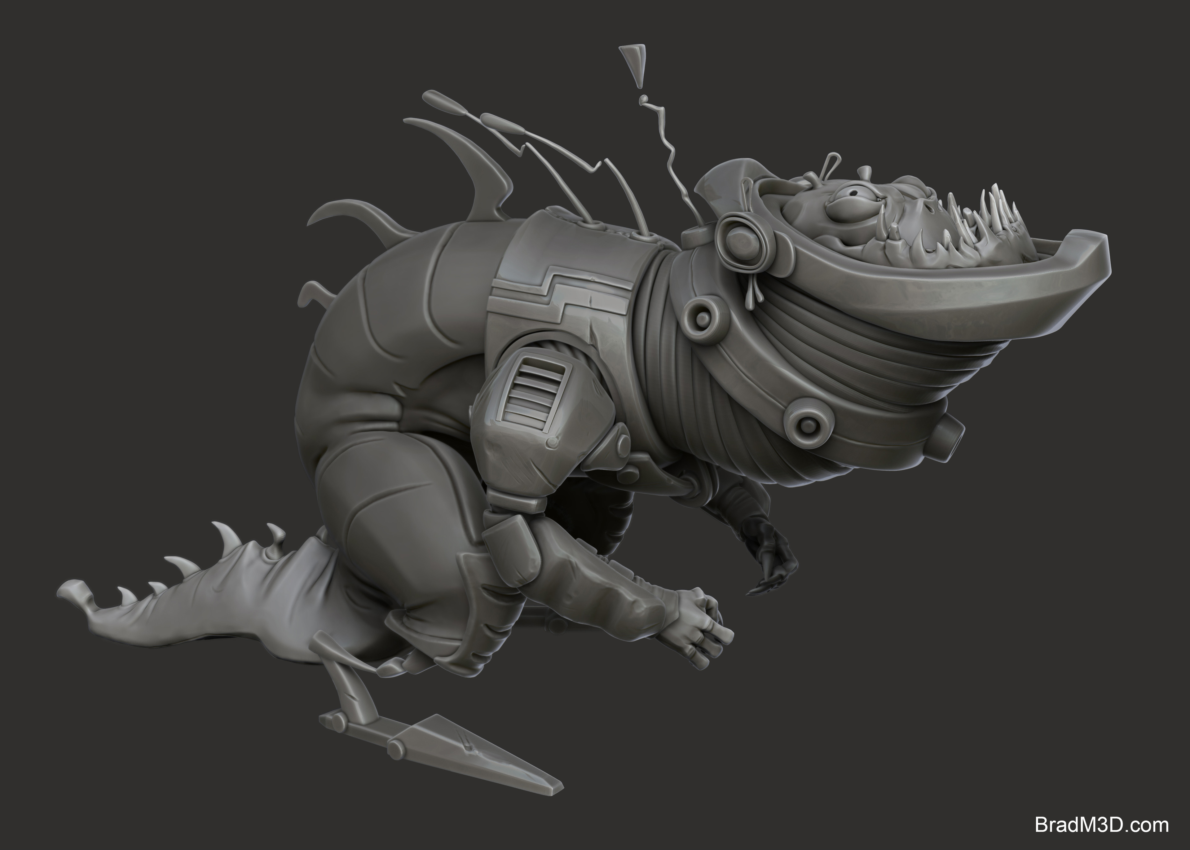 Zbrush: High Poly_01