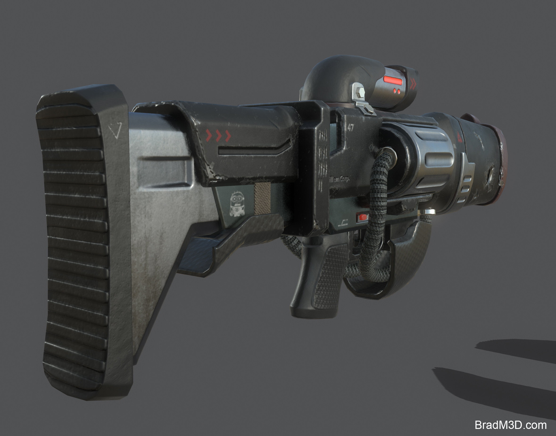 Marmoset: Screen Grab Gun_03
