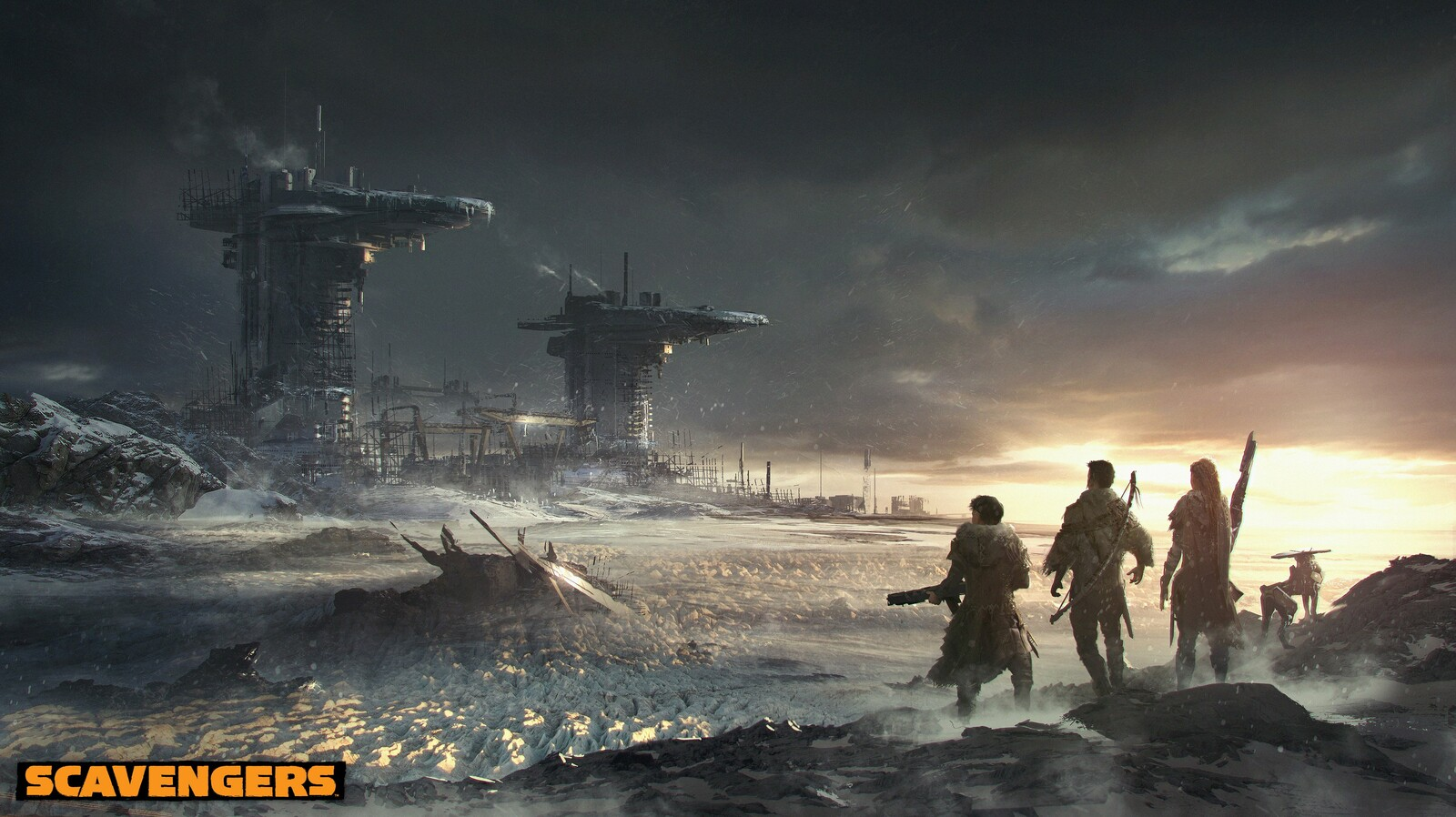 SCAVENGERS - KEY ART