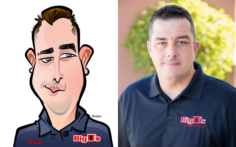 Steve rampton steve rampton daryl caricature