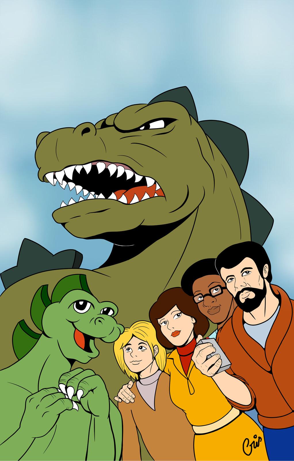 Godzilla Hanna Barbera