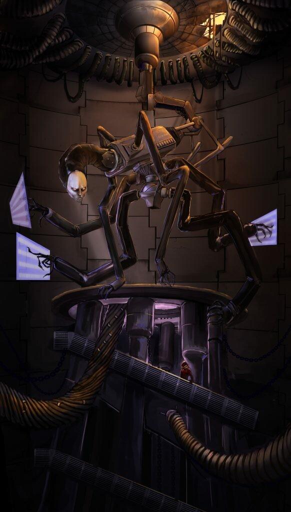 Ship AI character - INCINDIUM