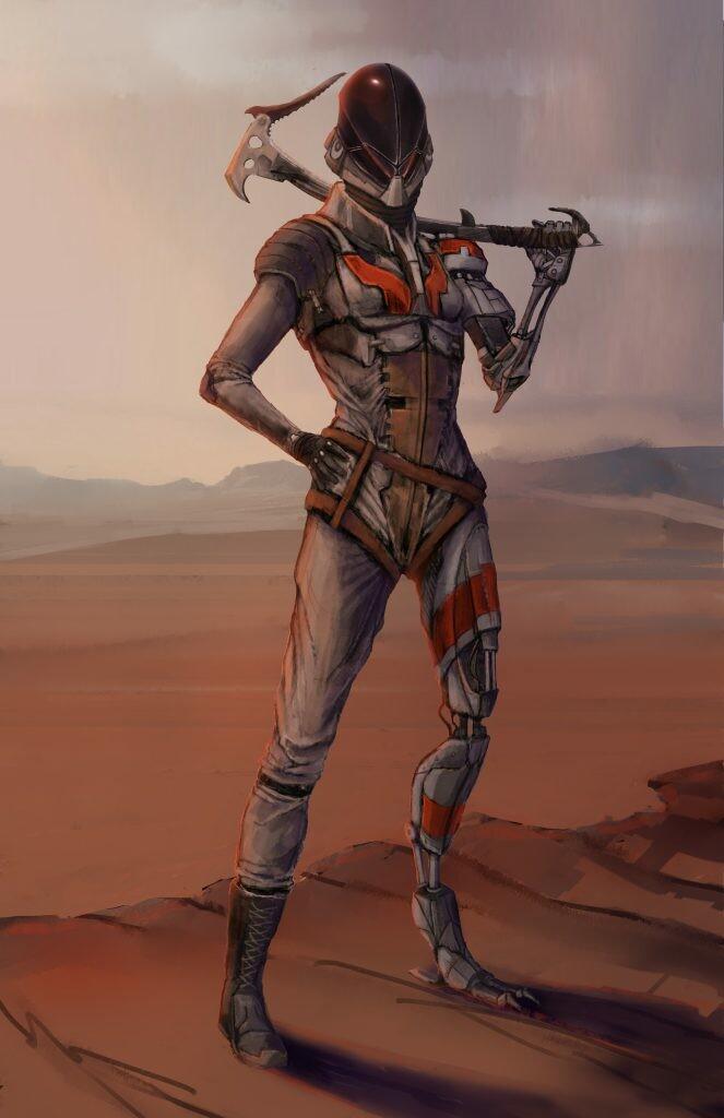 Hero character - Grave - Helmet