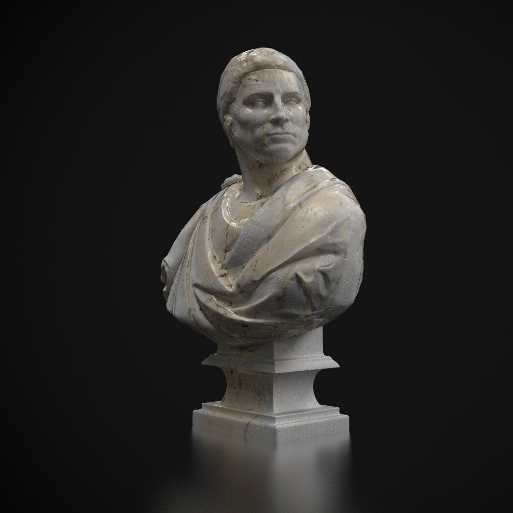 Brutus - game ready - sculpt