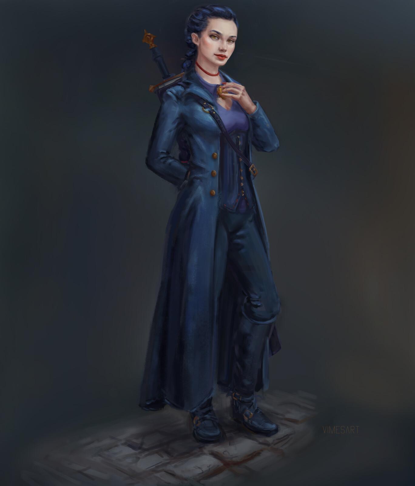 Blood hunter Female Commission