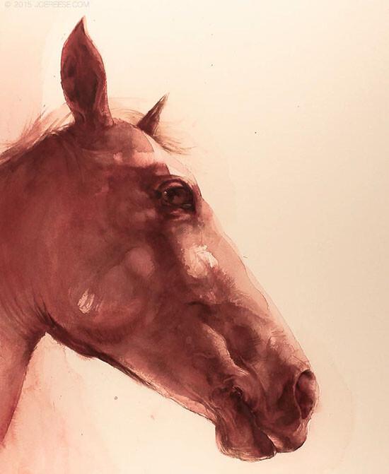 Inkwash Horse Profile
