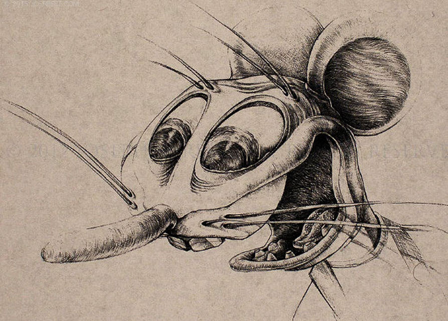 Ratt character design sketch base