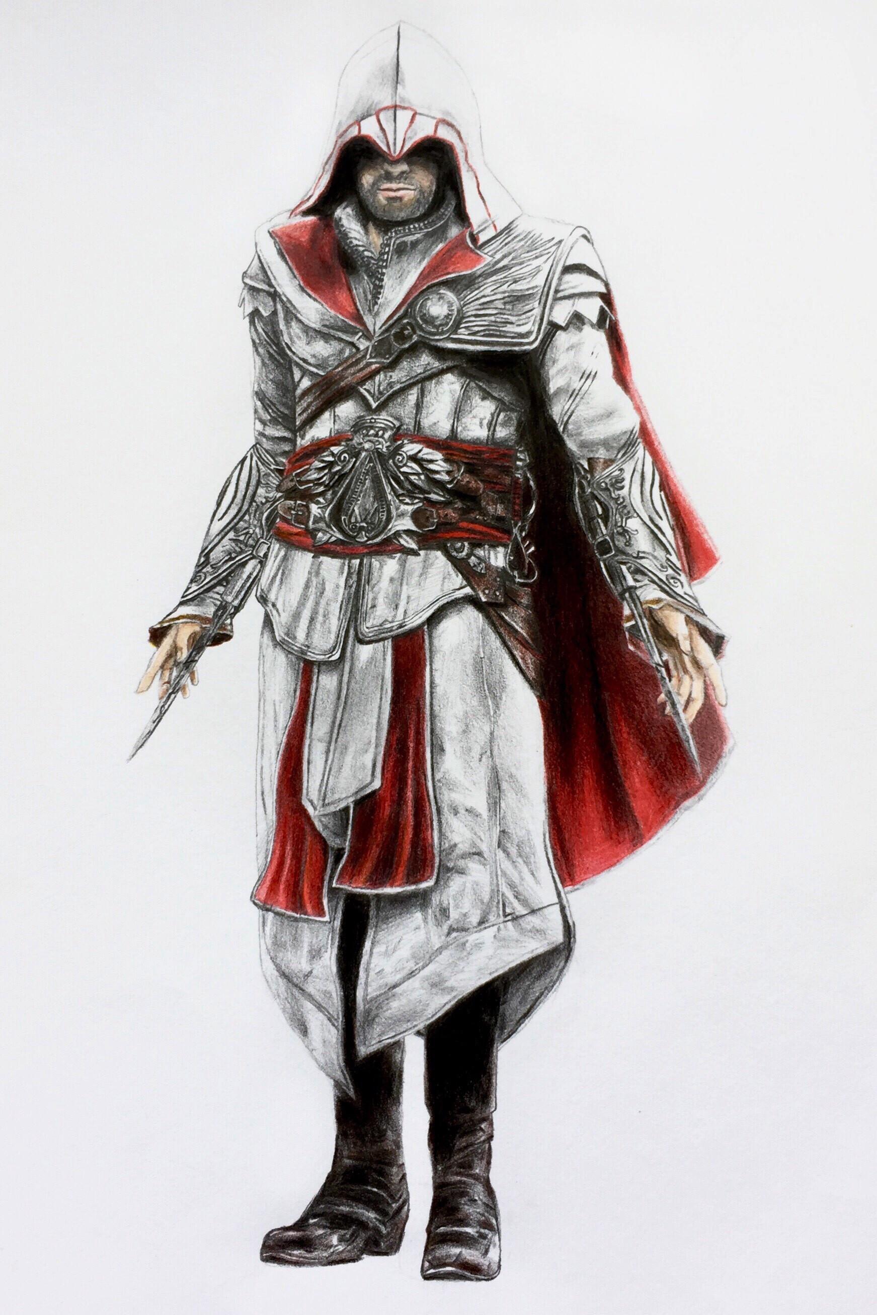 Rexton Ezio Auditore Fan Art