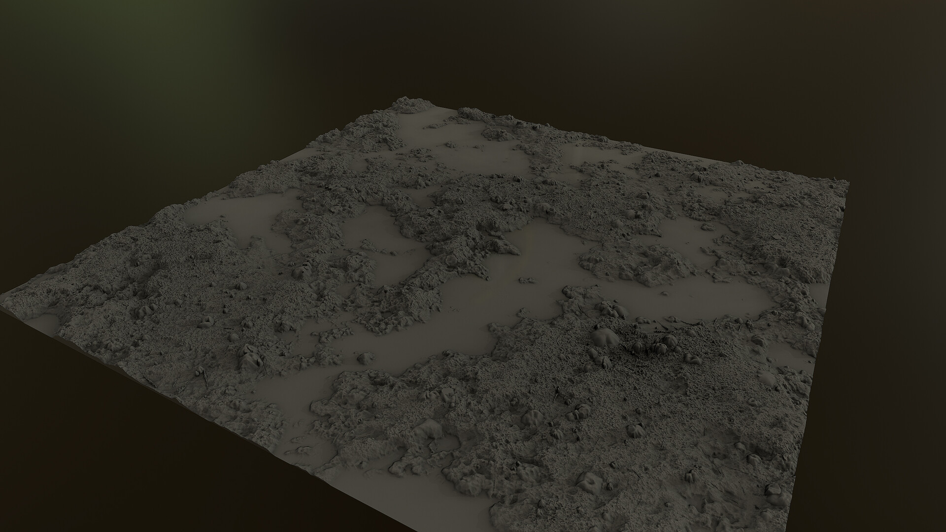 Substance Designer mud and pebbles WIP