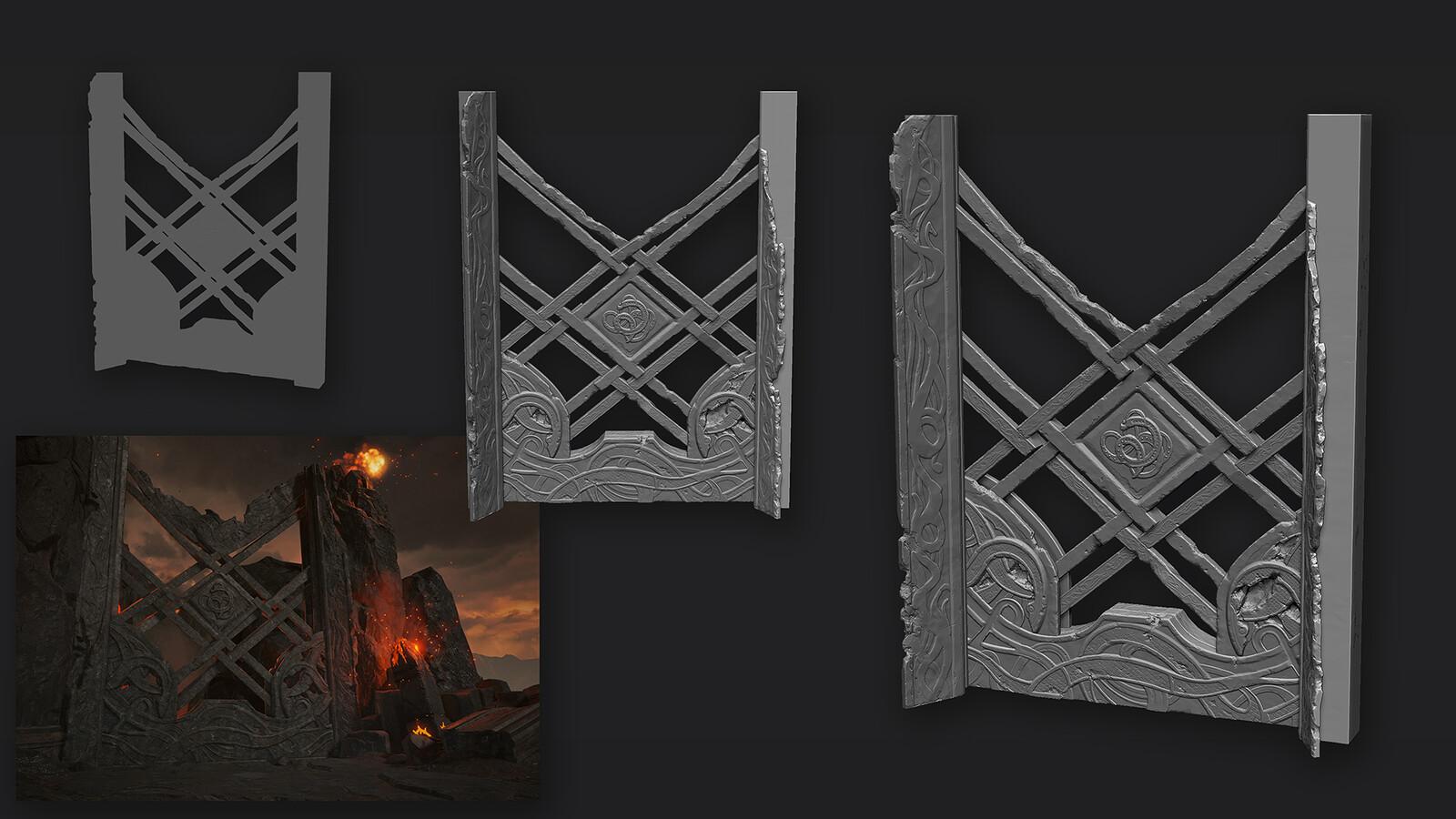 Arena gates