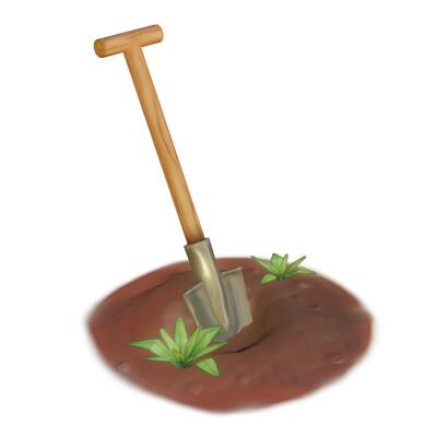 Izzy stijn shovel render