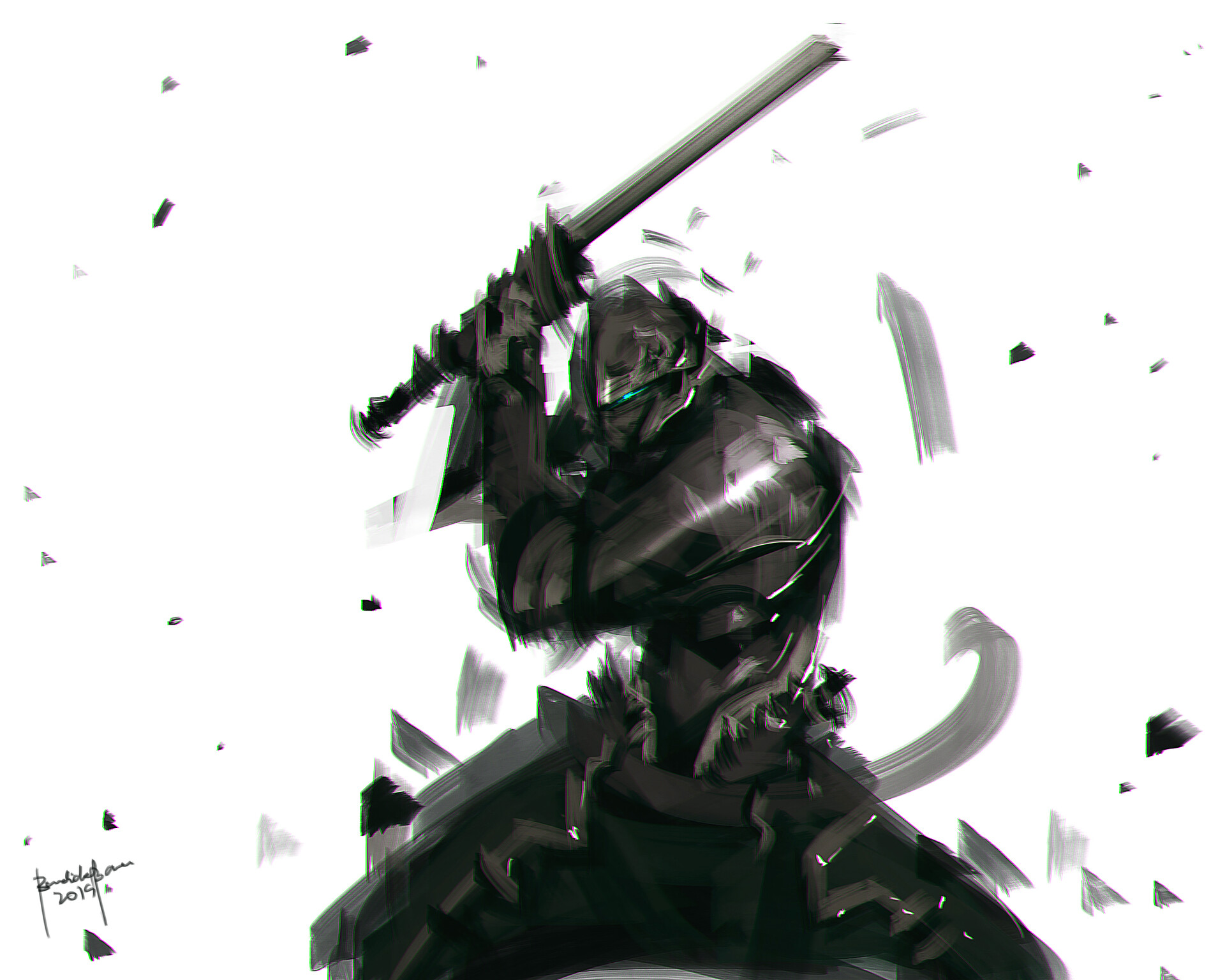 Benedick bana shinobi speedpaint final