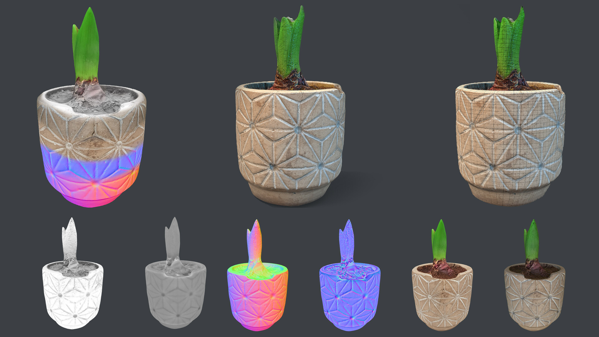 Flow Pot 3D Prop