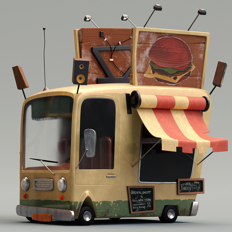 Foodtruck - Finest Quality Burgers & Fries!