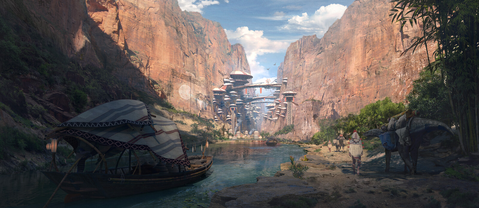 Canyon Civilization Vertical City