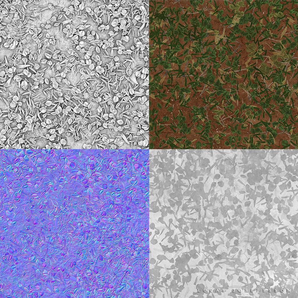 Lucas josefsson lucasjosefsson grassysoil textures