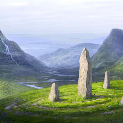 Eben schumacher scotland style landscape