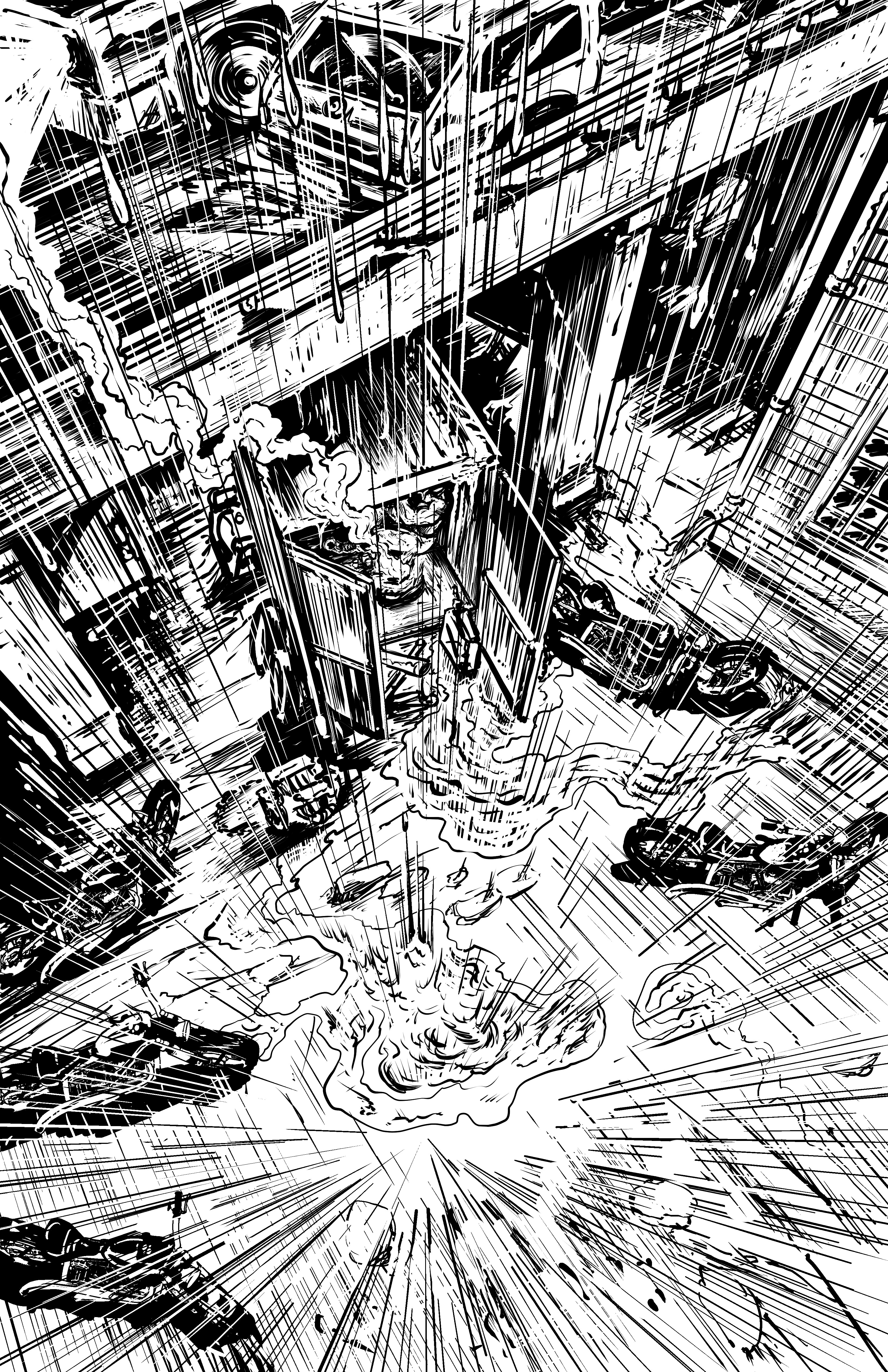Johnny Saturn: Spiral City Noir, pg1