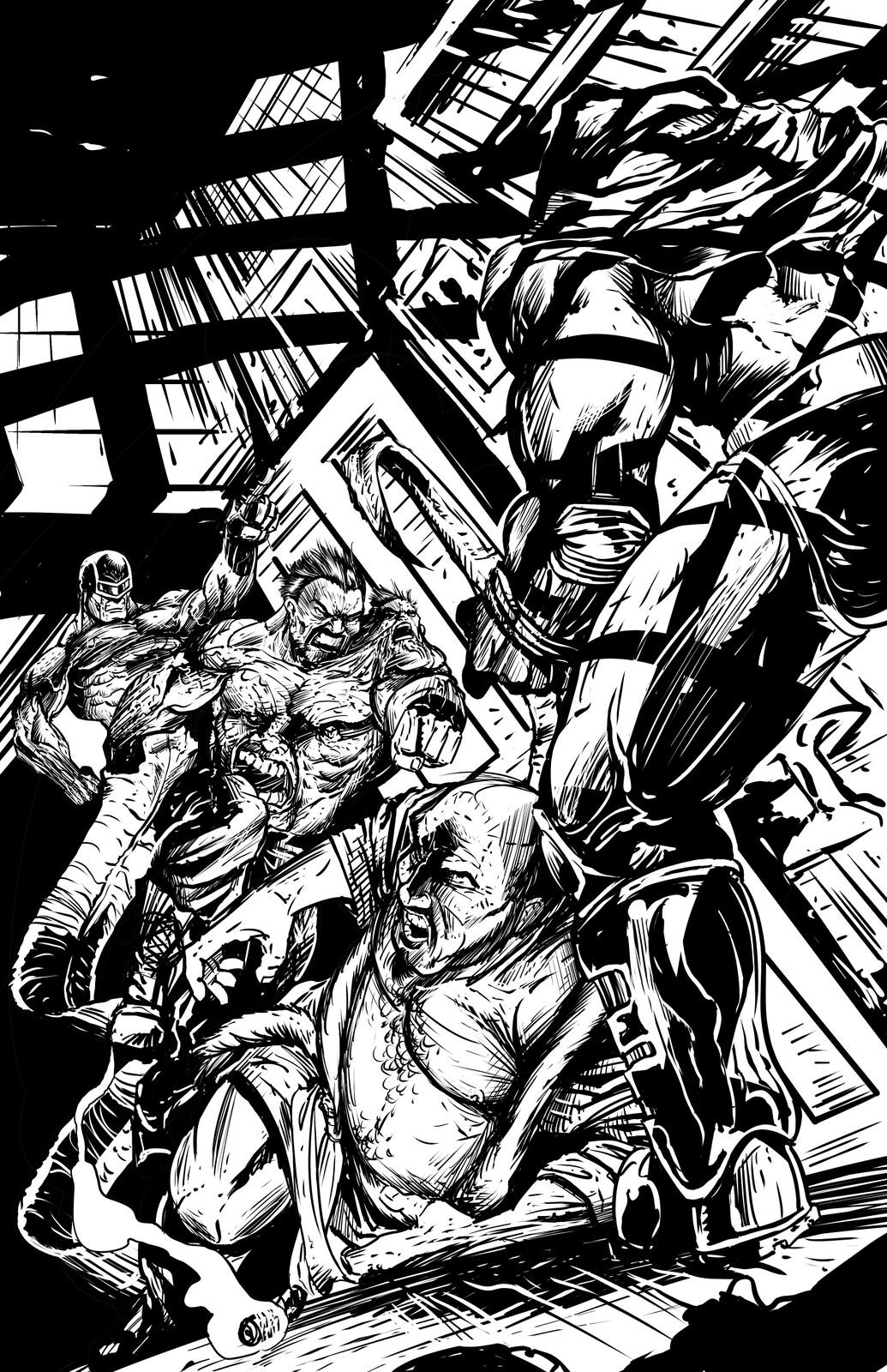 Johnny Saturn: Spiral City Noir, pg11