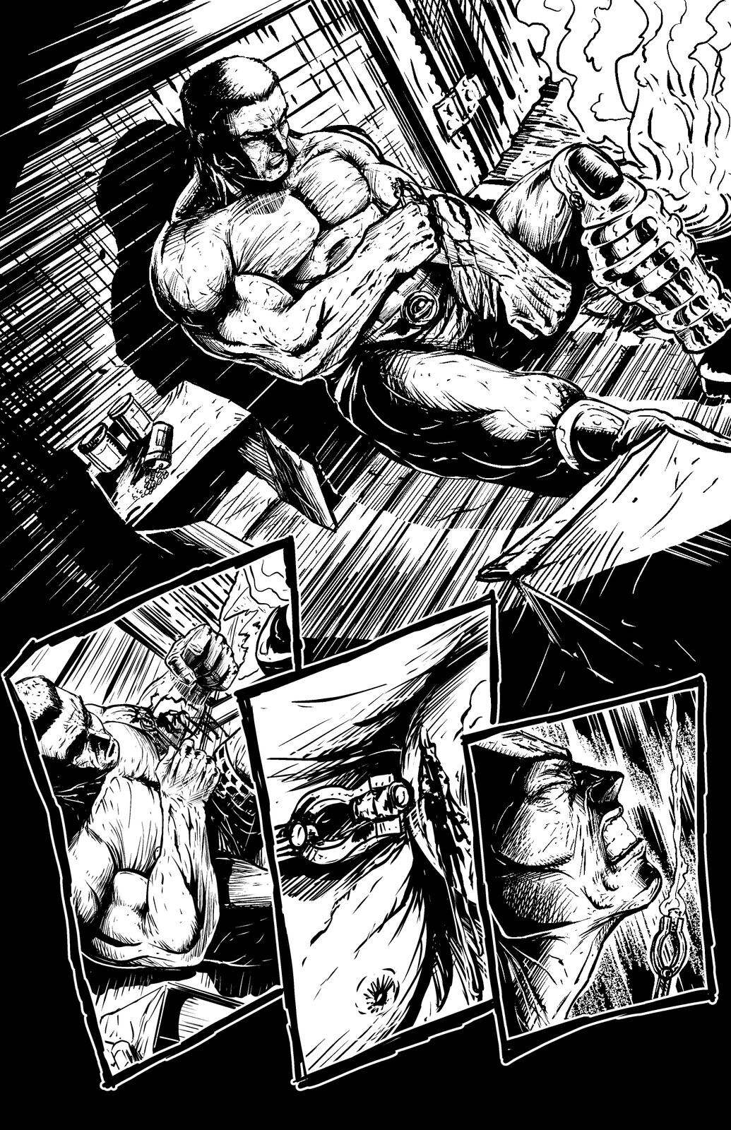 Johnny Saturn: Spiral City Noir, pg2