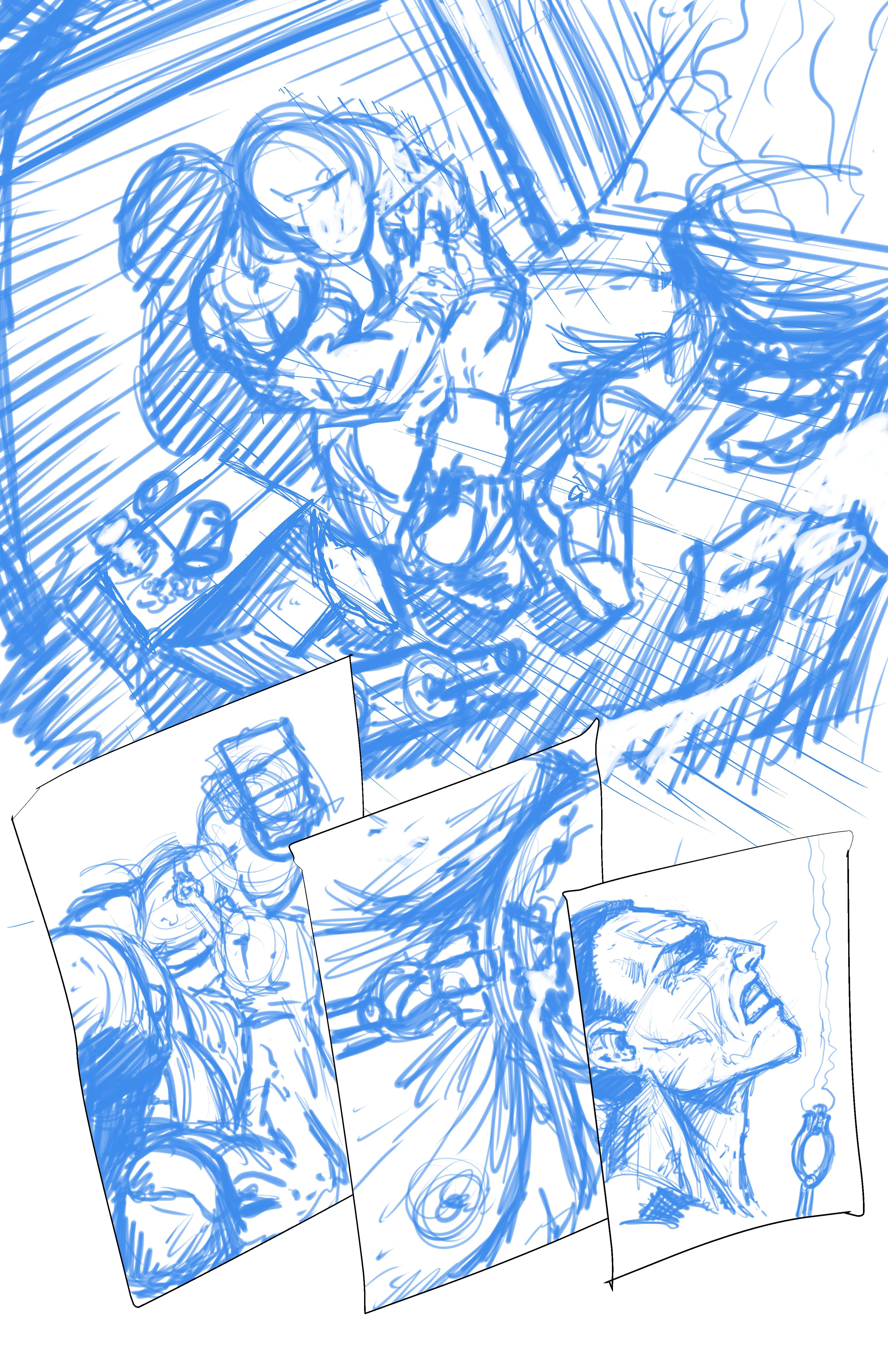 Johnny Saturn: Spiral City Noir, pg1 (Breakdowns)