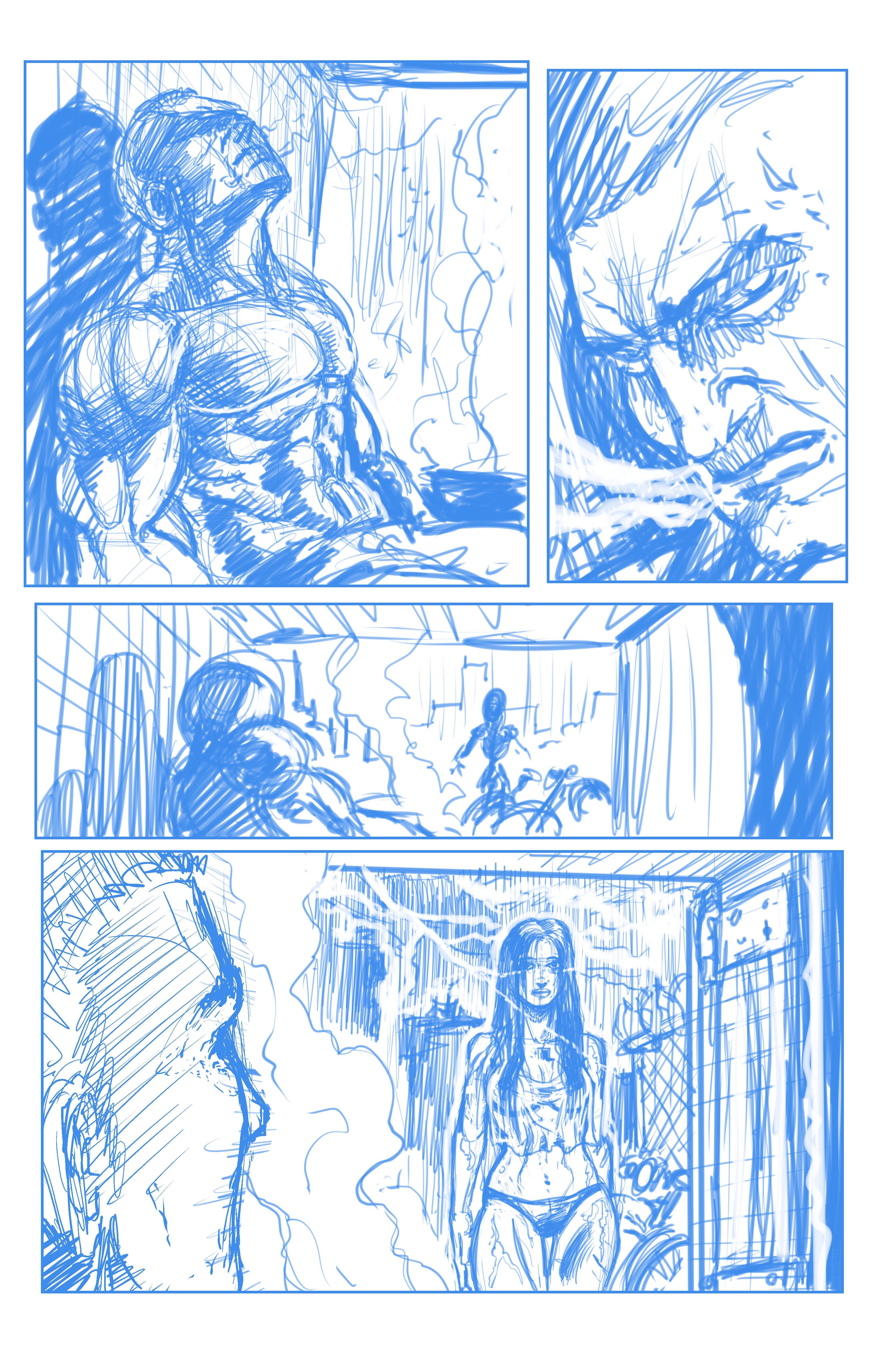 Johnny Saturn: Spiral City Noir, pg3 (Breakdowns)