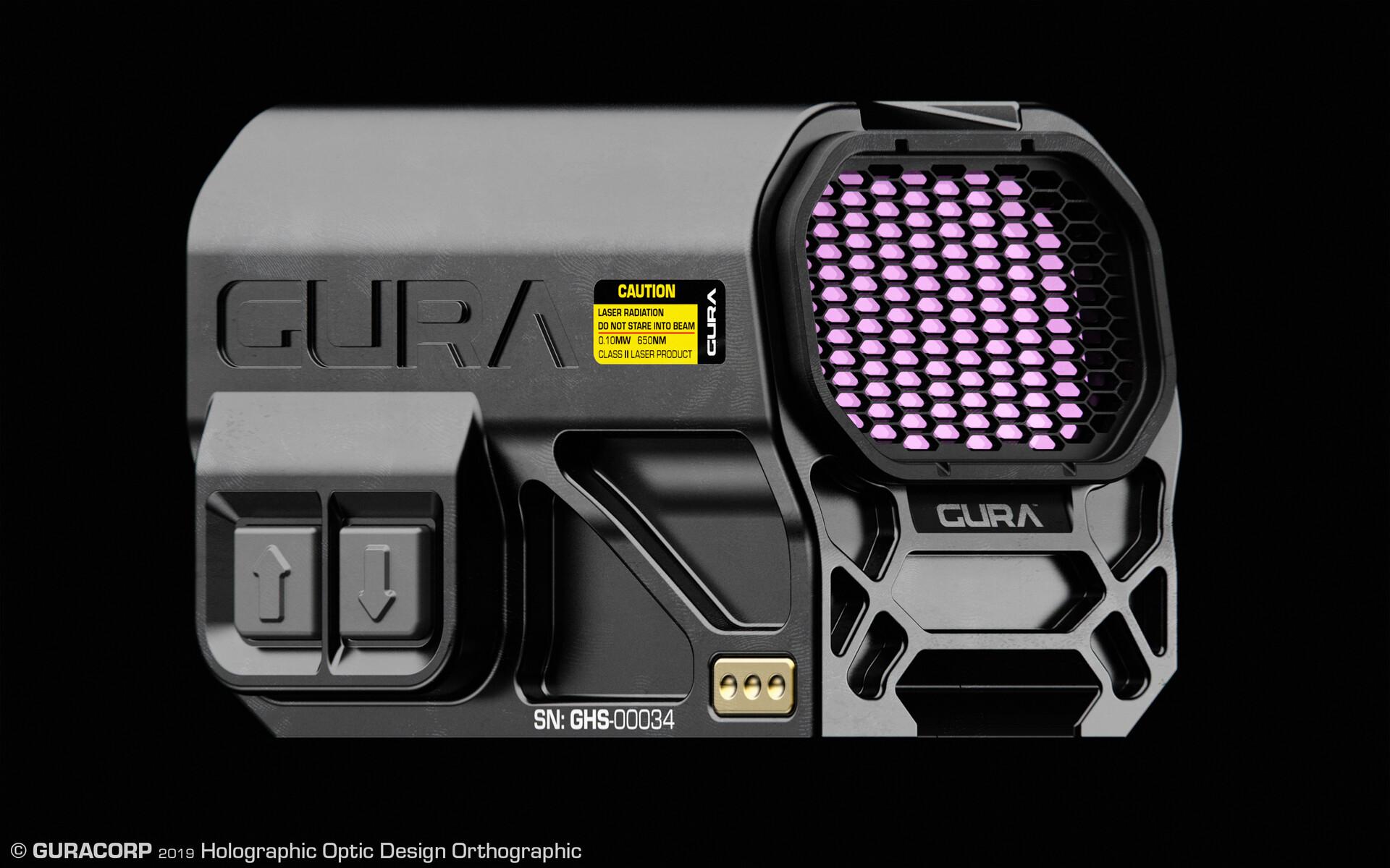 Edon guraziu gura holographic sight design b