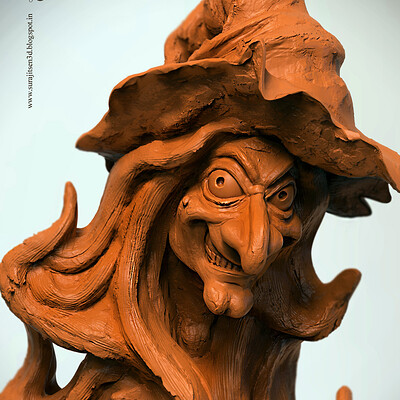 Surajit sen witch speed digital sculpt surajitsen feb2019