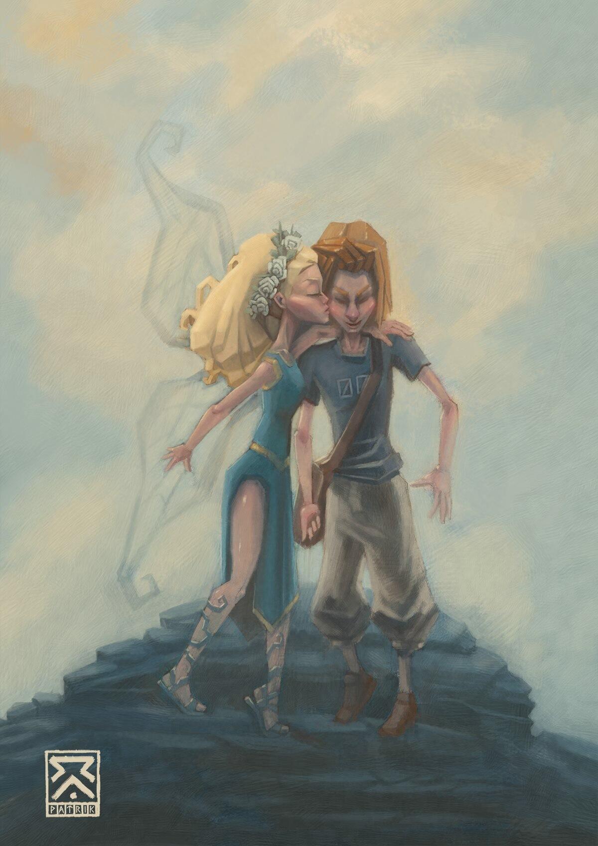 A Fairy kiss