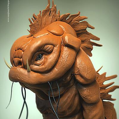 Surajit sen jacly creature digital sculpt surajitsen feb2019