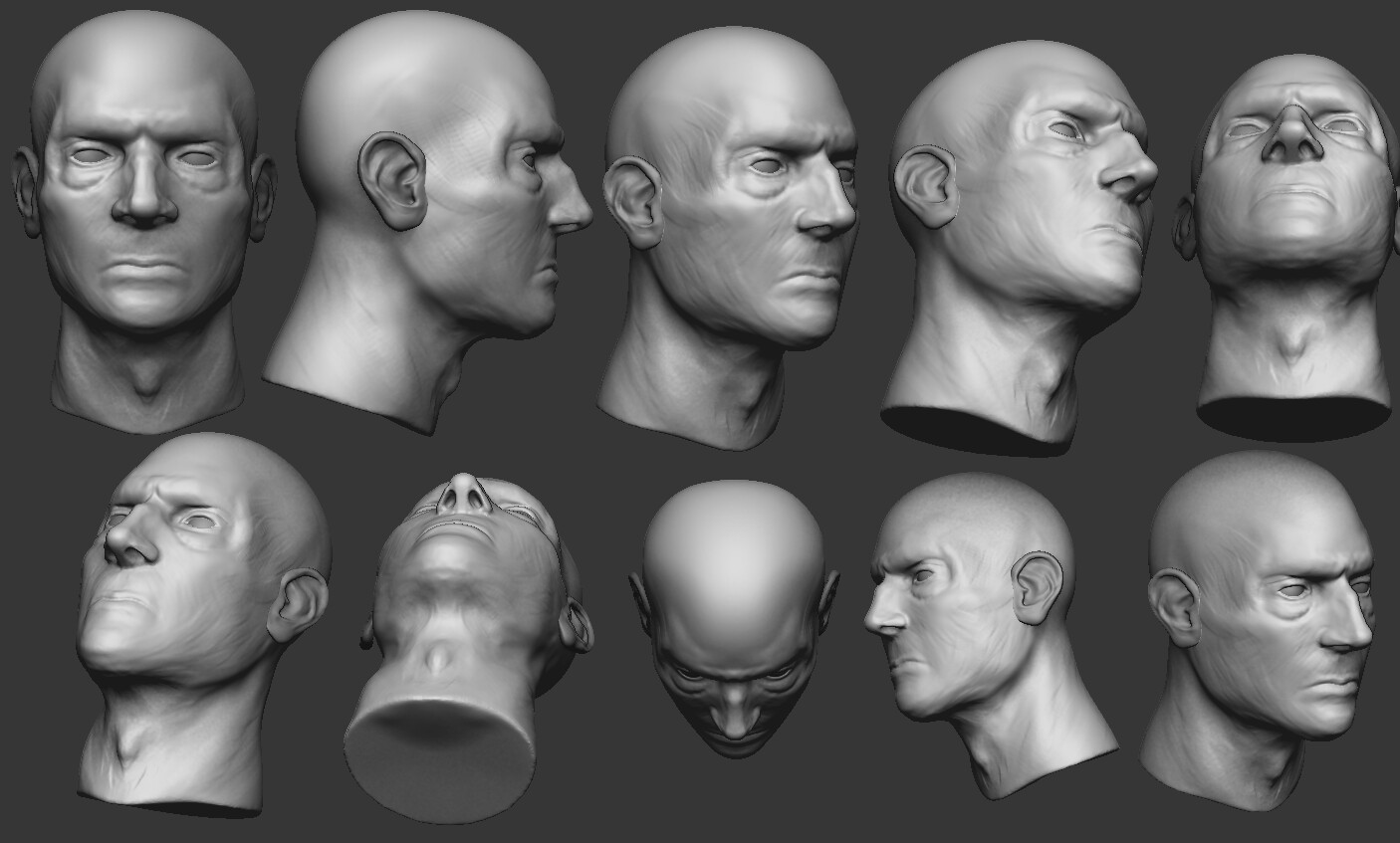 Late-Night Sculpting Session #2