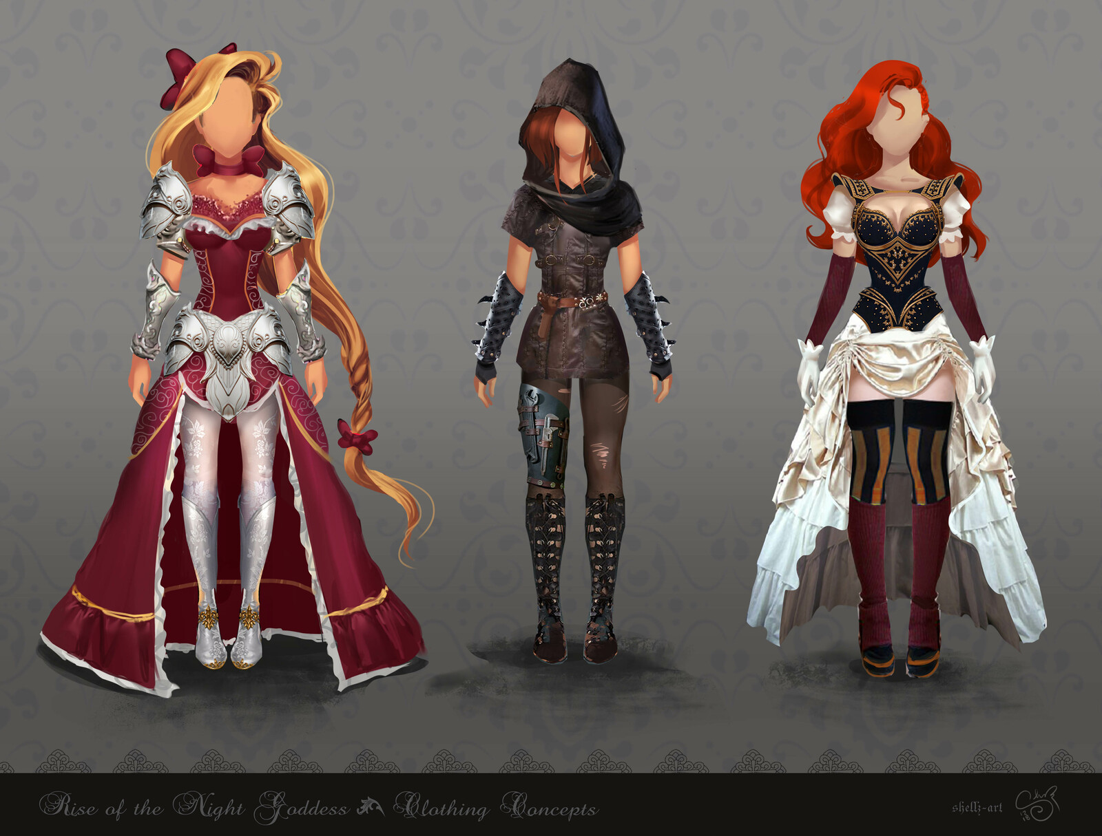 Rise of the Night Goddess - The Aguane Clothing Concepts