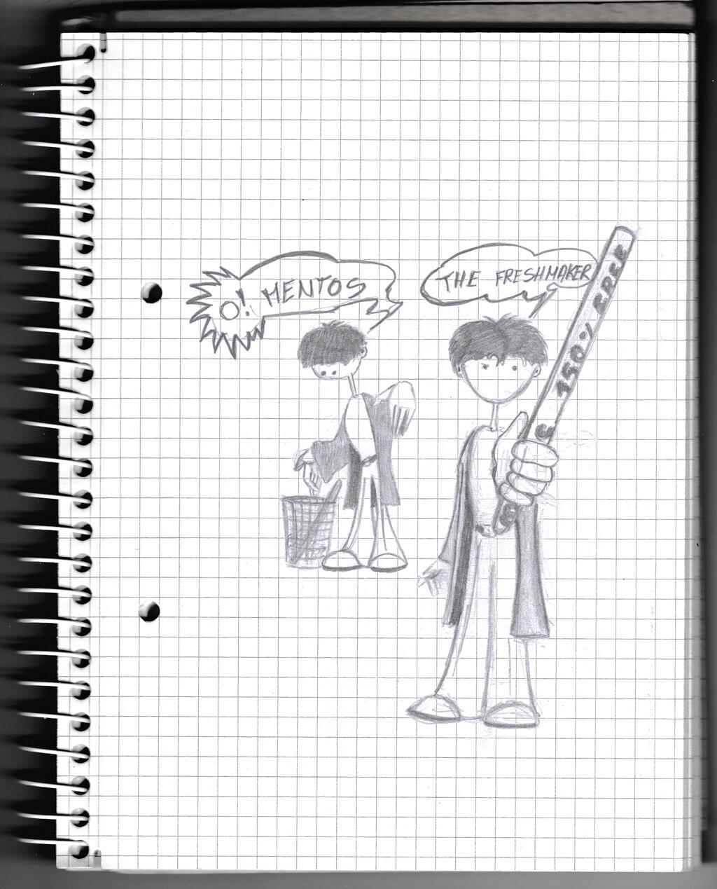 character, sketch, pencil,