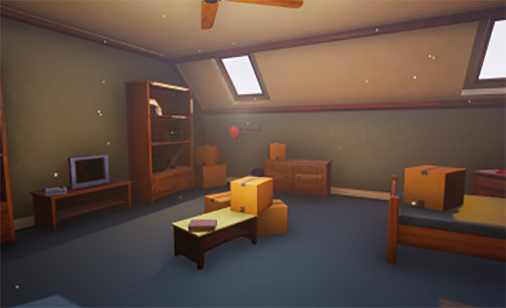 Player's Bedroom Near the End