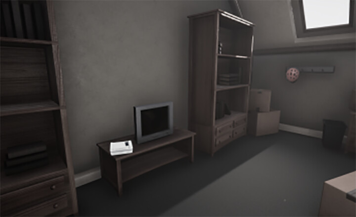 Player's Bedroom Initially
