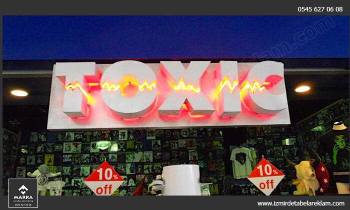Izmir tabela reklam hizmetleri izmir tabela kutu harf ornekleri