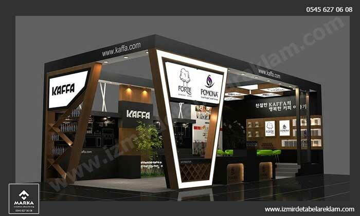 Izmir tabela reklam hizmetleri izmir fuar stand modelleri exhibition