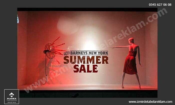 Izmir tabela reklam hizmetleri vitrin dekorasyonu izmir 2