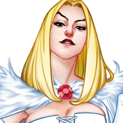 Amelia vidal white queen0