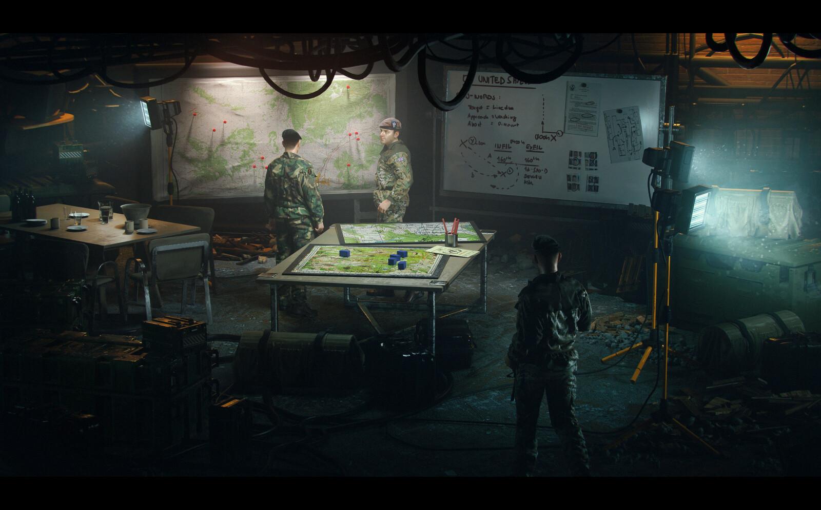 (2) 'Command Room'