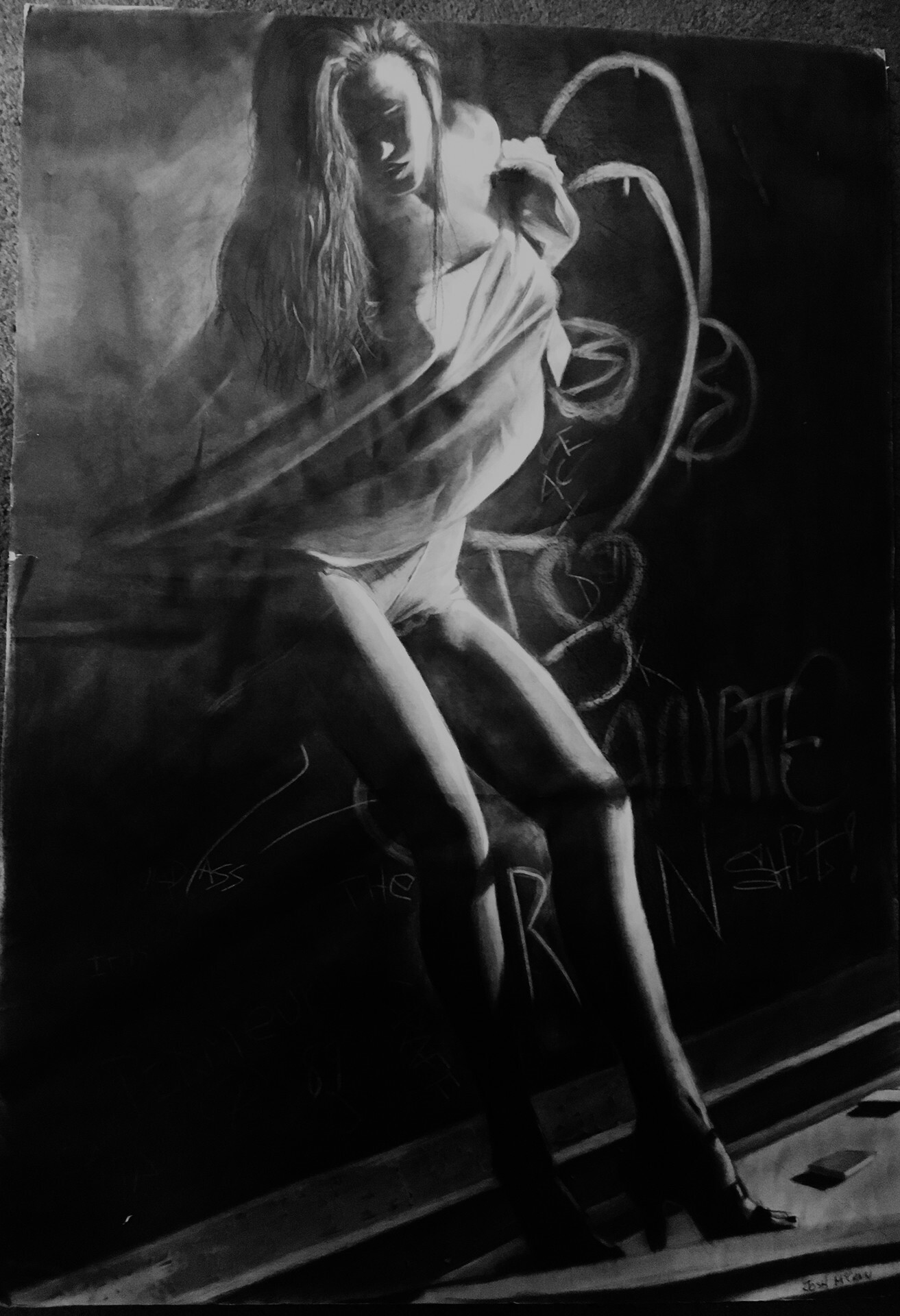 Original Charcoal done in 2004