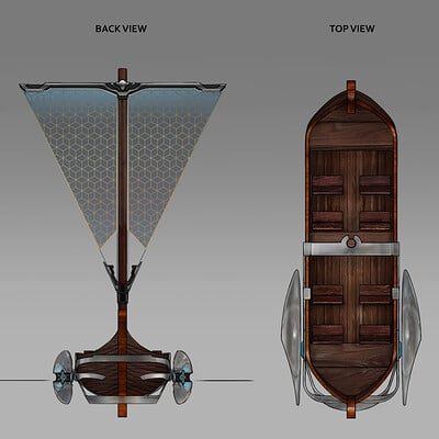 Van lawrence ching jormungandr themepark boatdesign