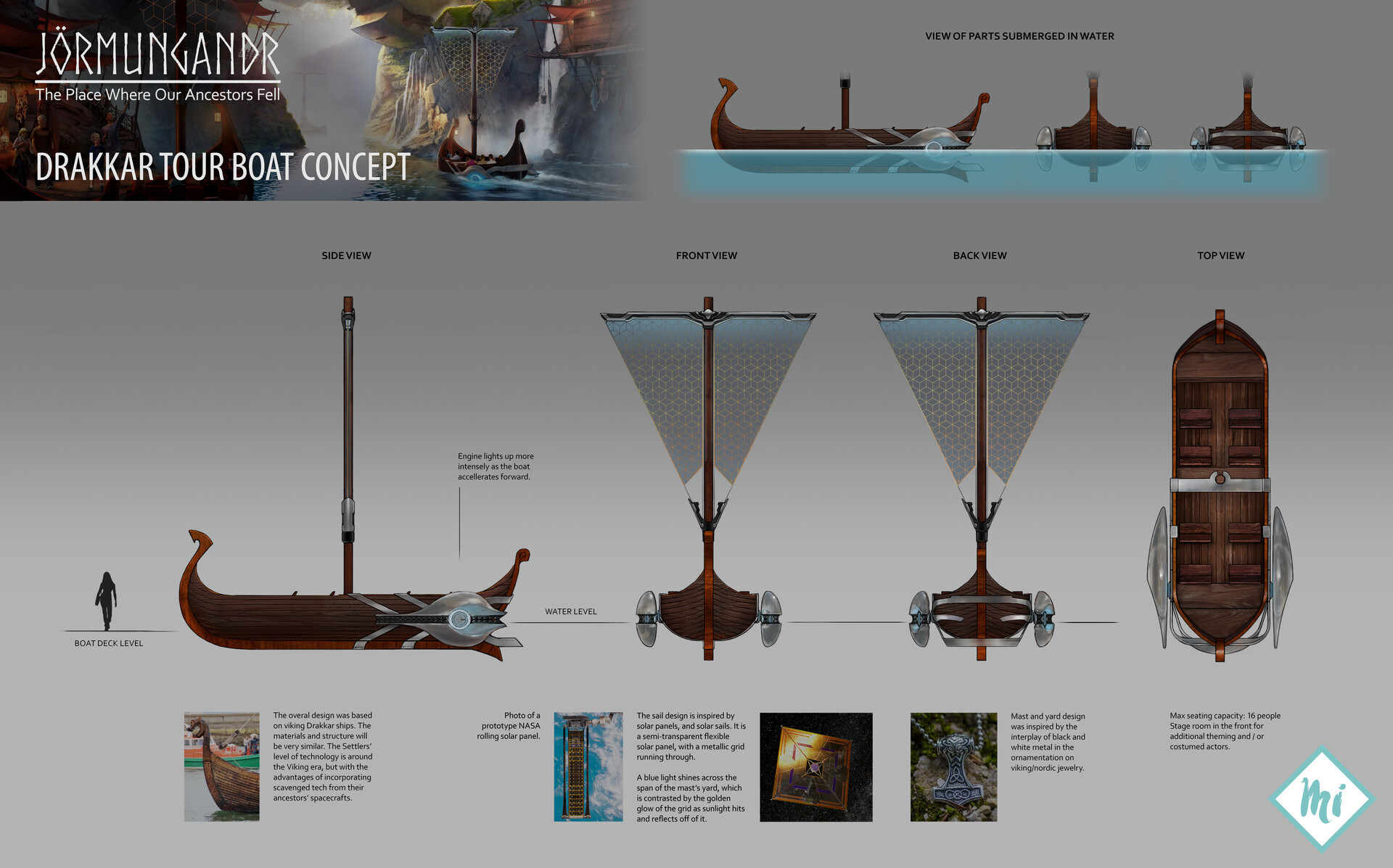 Van lawrence ching jormungandr themepark boatdesign