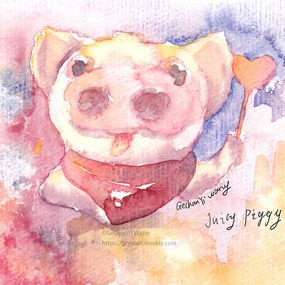 Gechunyi wang gechunyi wang juciy piggy 2019 01 01
