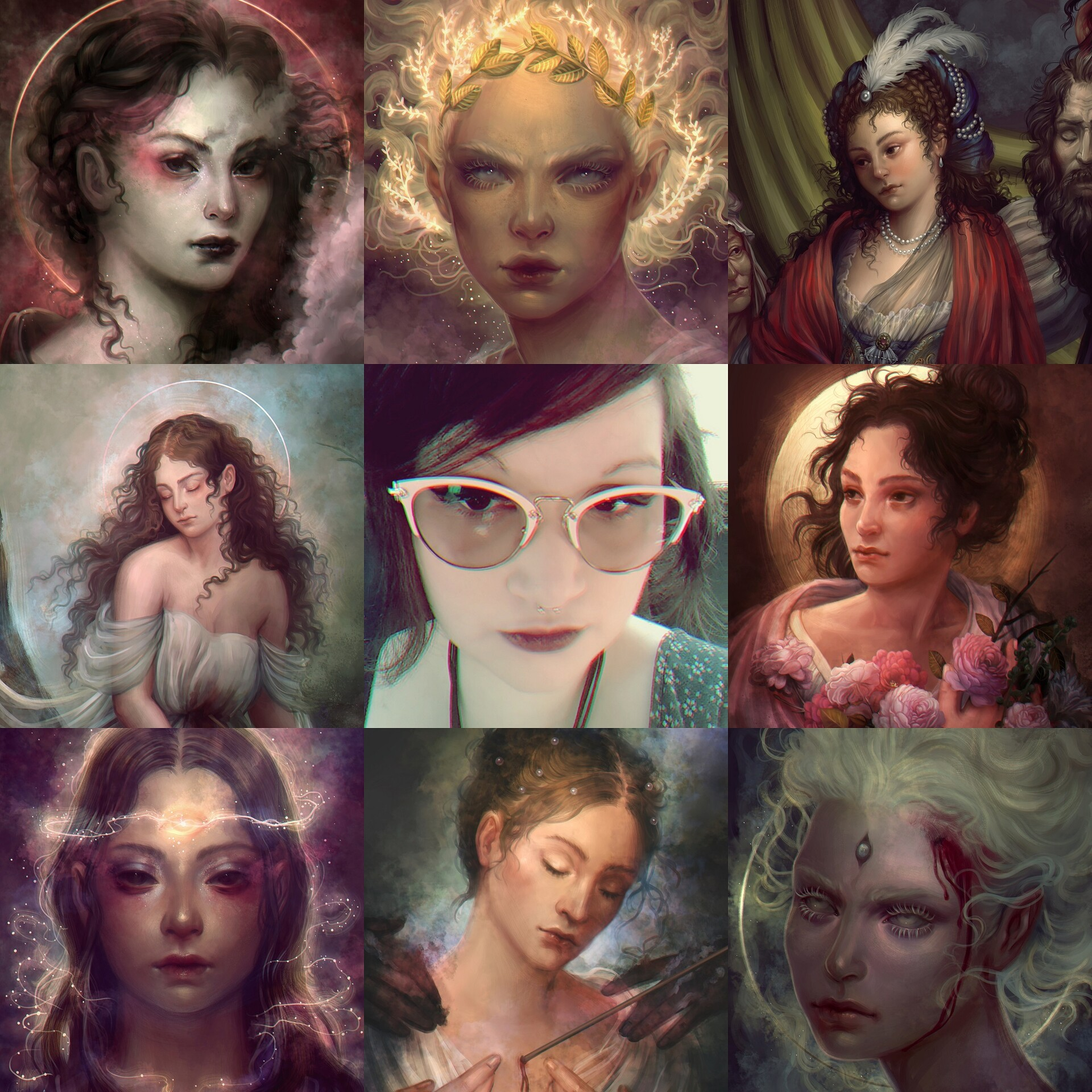 Lourdes saraiva befunky collage