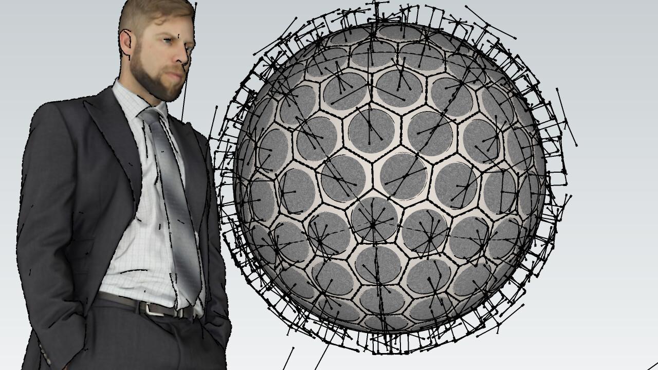 SU 2016 Hexagonal Geodesic bomb WIP SU